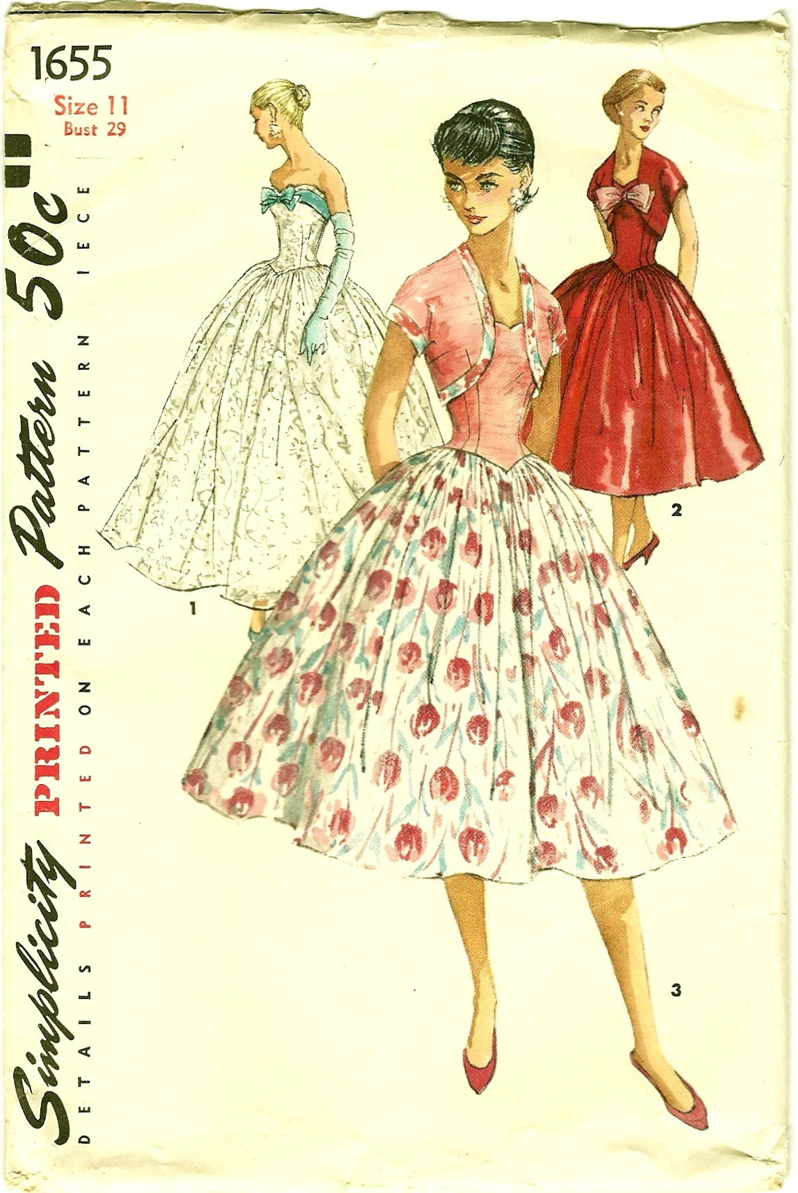 Simplicity 1655 Vintage Sewing Patterns Fandom Powered