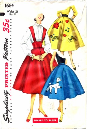 Simplicity 1956 1664