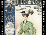 Le Bon Ton October Fall 1904