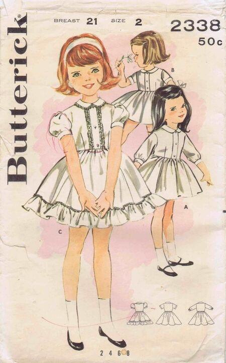 Butterick 1963 2338