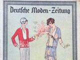Deutsche Moden-Zeitung No. 15 Vol. 37 1928