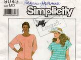 Simplicity 9043 A