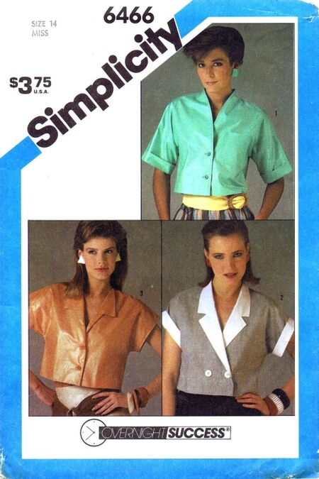 Simplicity 1984 6466