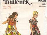 Butterick 6036