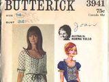 Butterick 3941 A