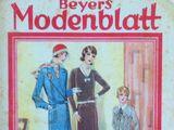 Beyers Modenblatt No. 25 Vol. 8 1930