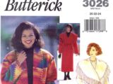Butterick 3026 C