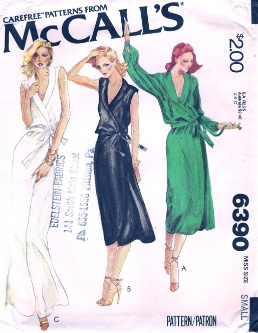 McCall\'s 6390 A   Vintage Sewing Patterns   FANDOM powered by Wikia