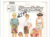 Simplicity 7531 A