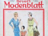 Beyers Modenblatt No. 8 Vol. 10 1931