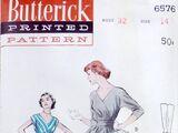 Butterick 6576 B