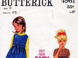 Butterick 4961 B