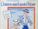 Praktische Damen- und Kinder-Mode No. 7 1935