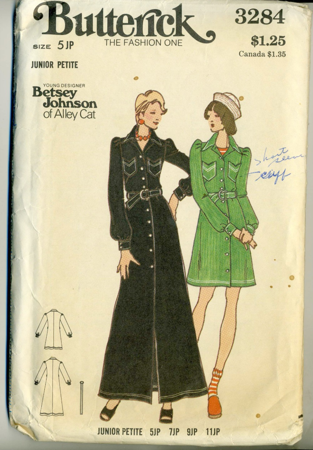 Butterick 3284 b vintage sewing patterns fandom powered by wikia butterick 3284001 jeuxipadfo Gallery