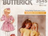 Butterick 3545 D