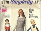 Simplicity 7778 A