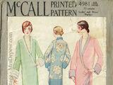 McCall 4981 A