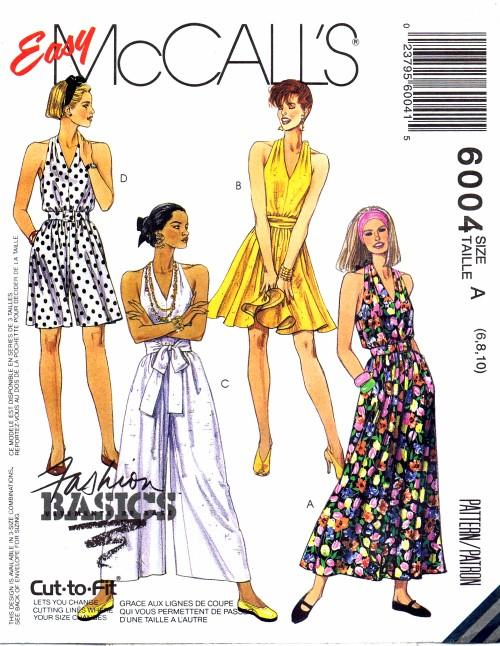 McCalls 1992 6004
