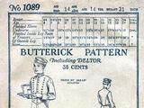 Butterick 1089