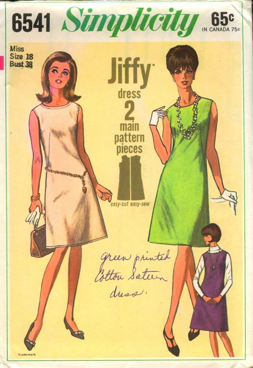 Simplicity 6541 | Vintage Sewing Patterns | FANDOM powered by Wikia