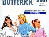 Butterick 5861 B