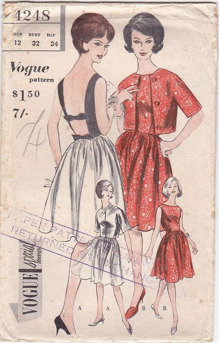 Pattern - Vogue 4248 02
