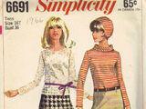Simplicity 6691 A