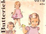 Butterick 9818
