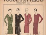 Vogue Patterns February 1929