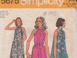 Simplicity 5675 A