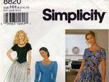 Simplicity 8820 B
