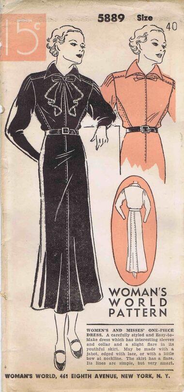 Womans World 1935 5889