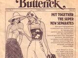 Butterick Fashion News July 1974