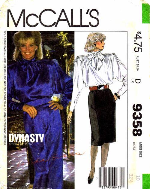 McCalls 1984 9358