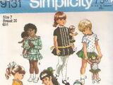 Simplicity 9131 A