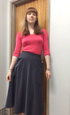 Simplicity 3733 - View 2, grey polyester