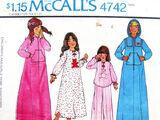 McCall's 4742