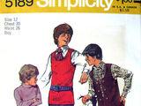 Simplicity 5189 A