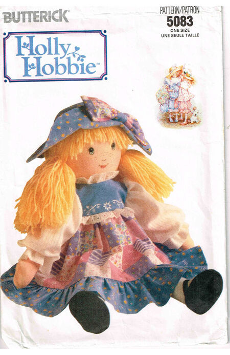 C1990 5083 Butterick Holly Hobbie doll