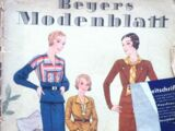 Beyers Modenblatt No. 20 Vol. 11 1932