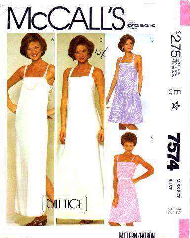 McCalls 1981 7574