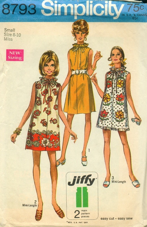 Image result for Jiffy Vintage Simplicity 8793