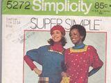 Simplicity 5272 A