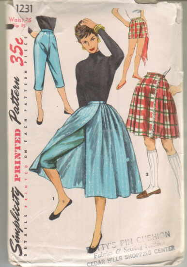 Simplicity 1231 | Vintage Sewing Patterns | FANDOM powered by Wikia