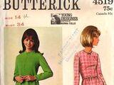 Butterick 4519