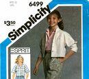 Simplicity 6499 A