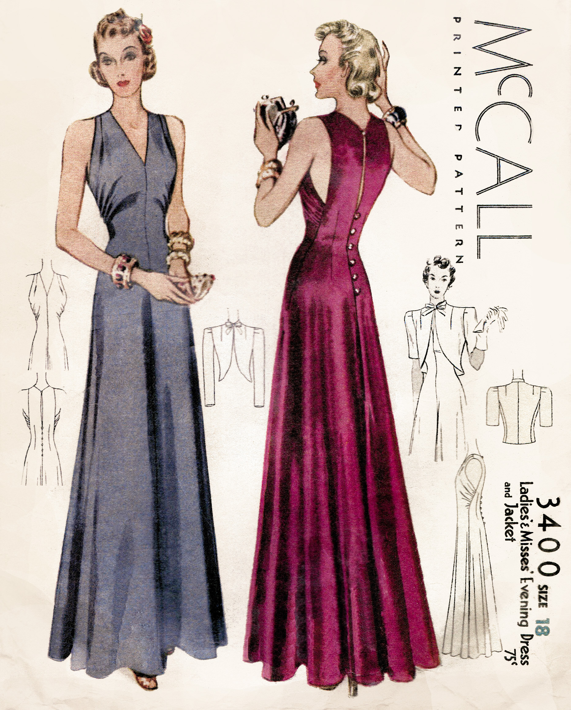 Mccall 3400 Vintage Sewing Patterns Fandom Powered By