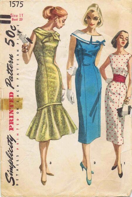 Simplicity 1956 1575
