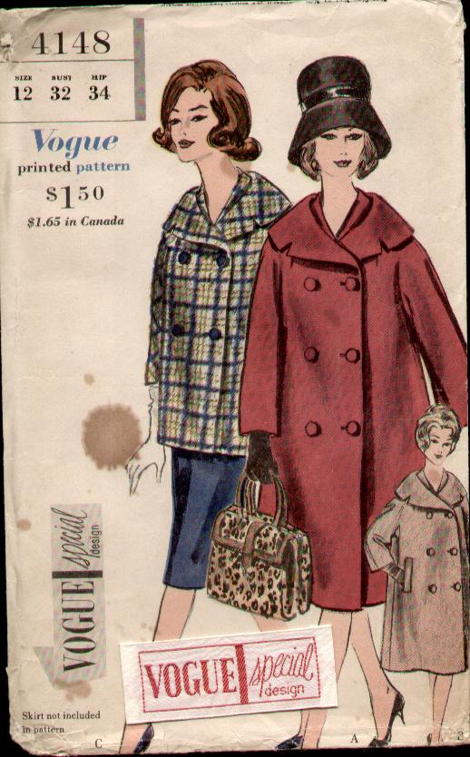 Image - Vogue 4148 60 a.jpg   Vintage Sewing Patterns   FANDOM ...