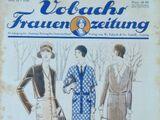 Vobachs Frauenzeitung No. 34 Vol. 33 1930